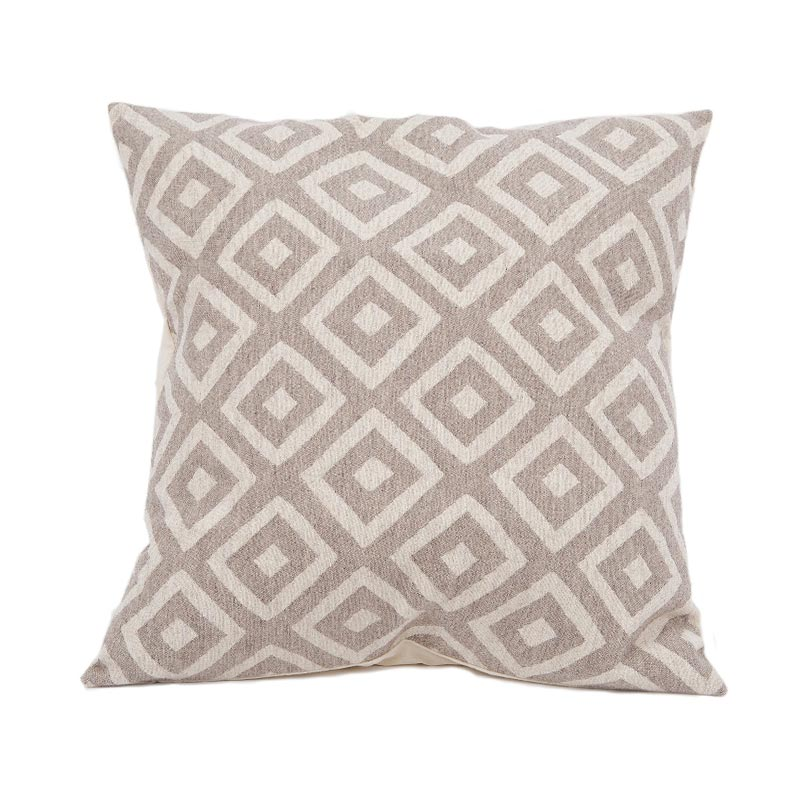 Tori Murphy Broadway Cushion Linen on Mushroom by Tori Murphy