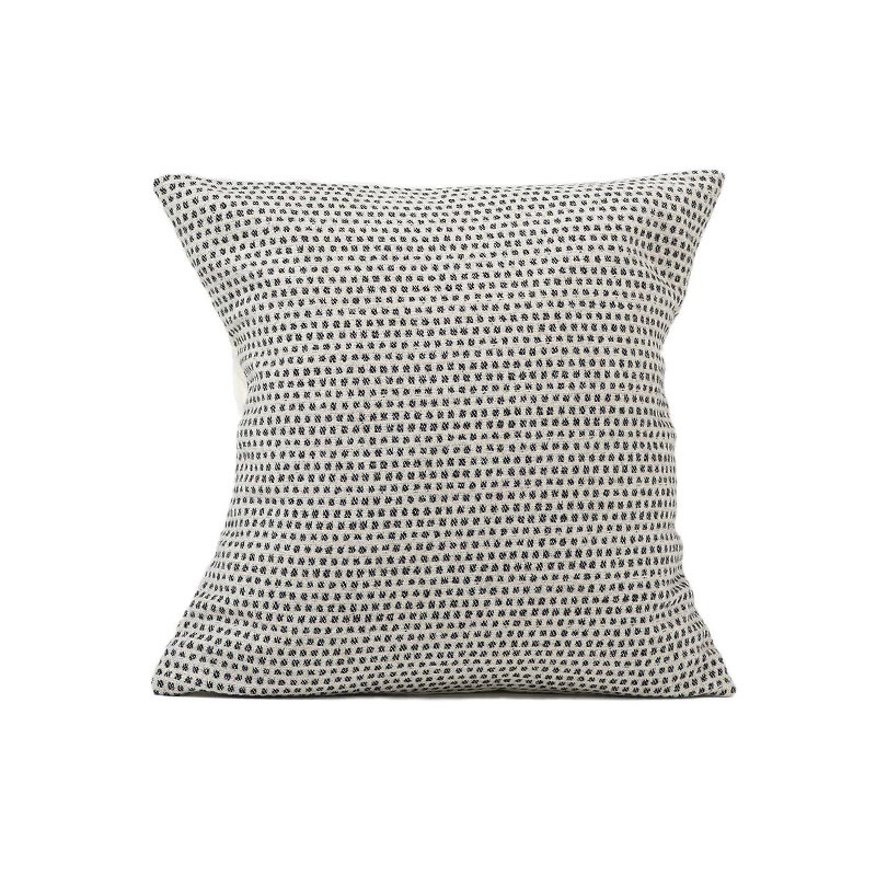 Tori Murphy Classic Clarendon Cushion Black on Linen by Tori Murphy