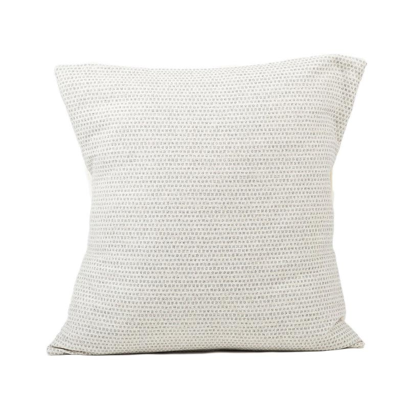 Tori Murphy Classic Clarendon Cushion Grey on Linen by Tori Murphy