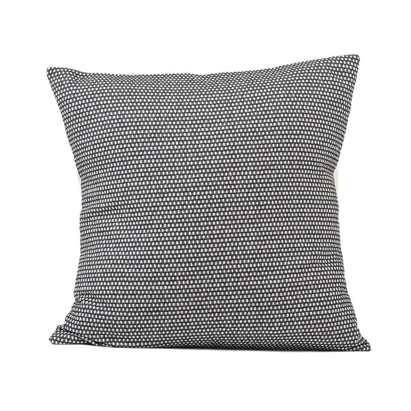 Tori Murphy Classic Clarendon Cushion Linen on Black by Tori Murphy