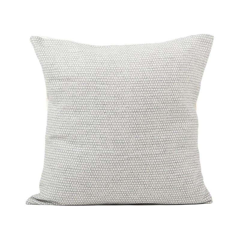 Tori Murphy Classic Clarendon Cushion Linen on Grey by Tori Murphy Olson and Baker - Designer & Contemporary Sofas, Furniture - Olson and Baker showcases original designs from authentic, designer brands. Buy contemporary furniture, lighting, storage, sofas & chairs at Olson + Baker.