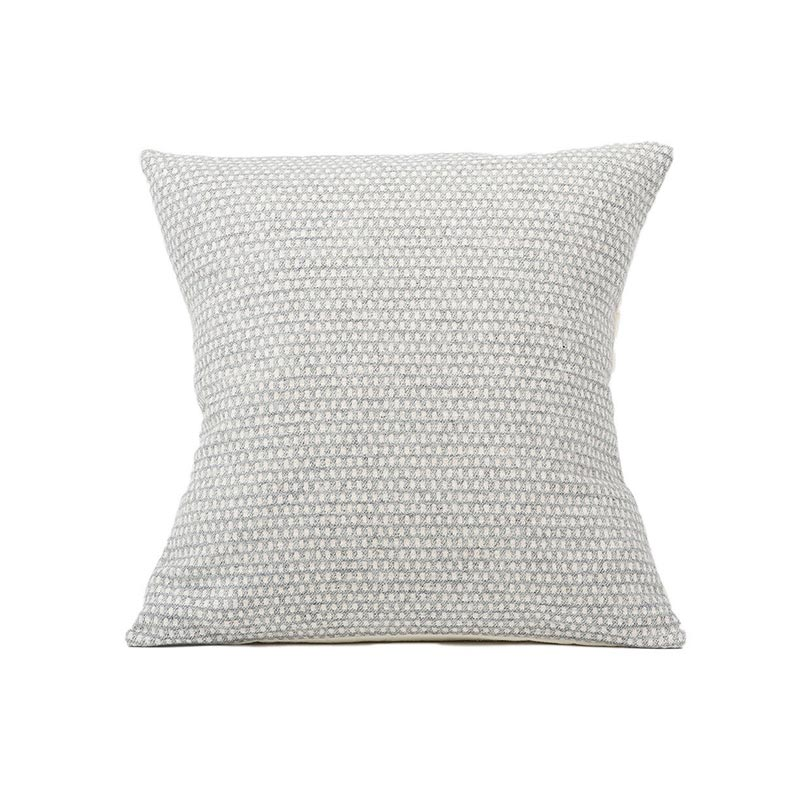 Tori Murphy Classic Clarendon Cushion Linen on Grey by Tori Murphy