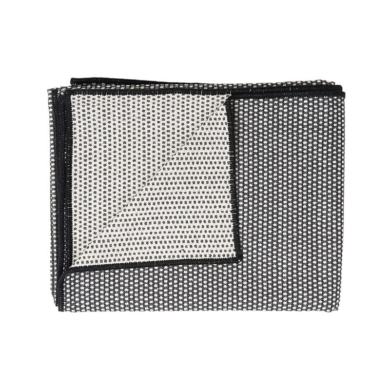 Tori Murphy Classic Clarendon Throw Black And Linen by Tori Murphy