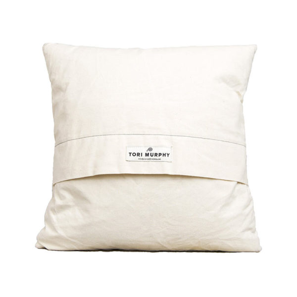 Classic Clarendon Cushion Grey on Linen