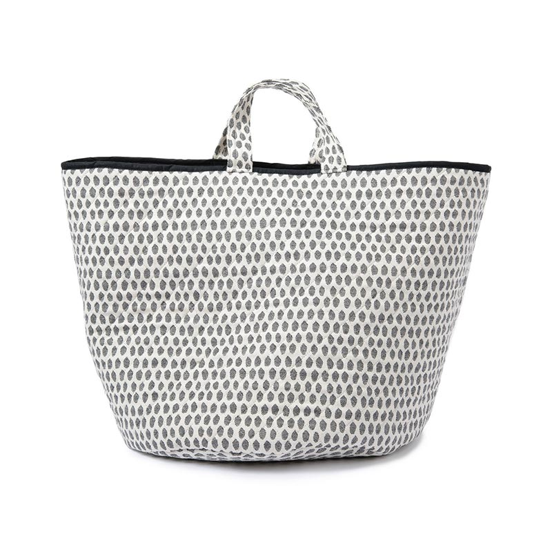 Tori Murphy Elca Storage Basket Black by Tori Murphy