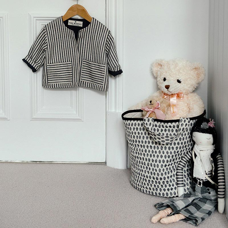 Tori Murphy Elca Storage Basket Black by Tori Murphy (3)