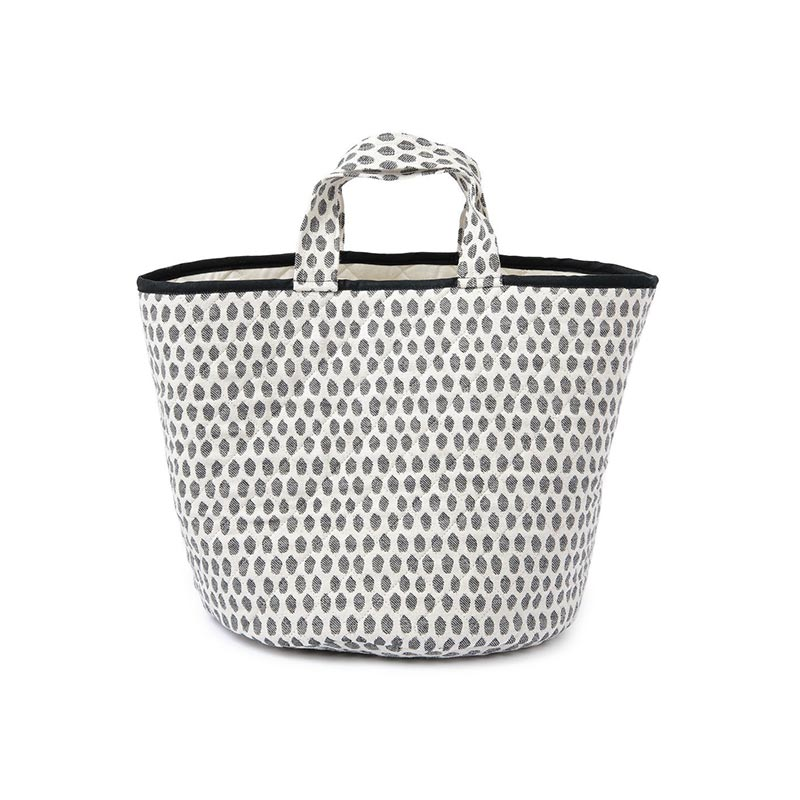 Tori Murphy Elca Storage Basket Black by Tori Murphy