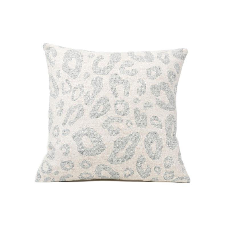 Tori Murphy Hamilton Small Spot Cushion Grey on Linen by Tori Murphy