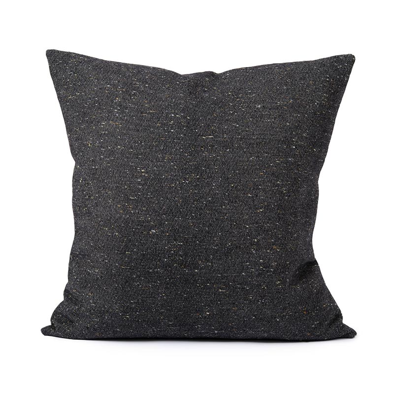 Tori Murphy Sandringham Plain Cushion Charcoal by Tori Murphy