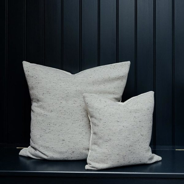 Sandringham Plain Cushion Grey