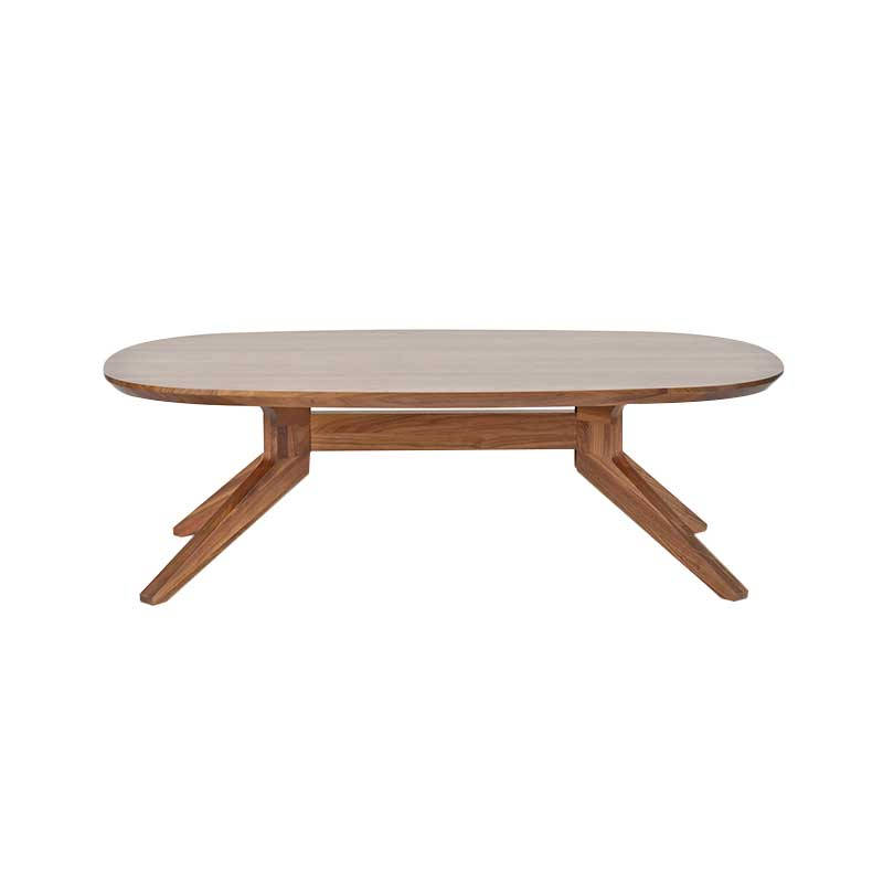 Case Furniture Cross Oval Coffee Table by Matthew Hilton
