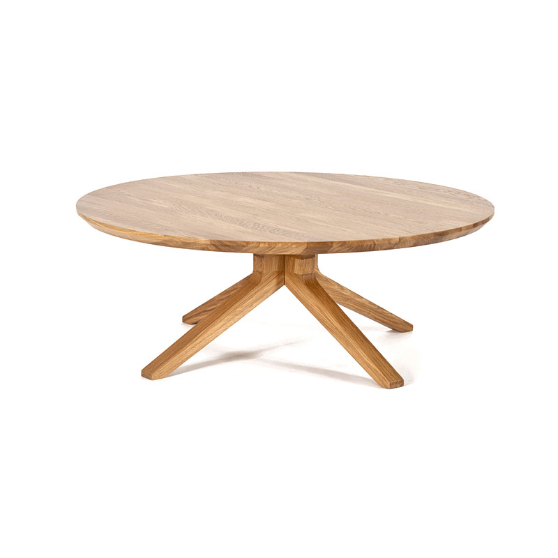 Case Furniture Cross Round Coffee Table by Matthew Hilton