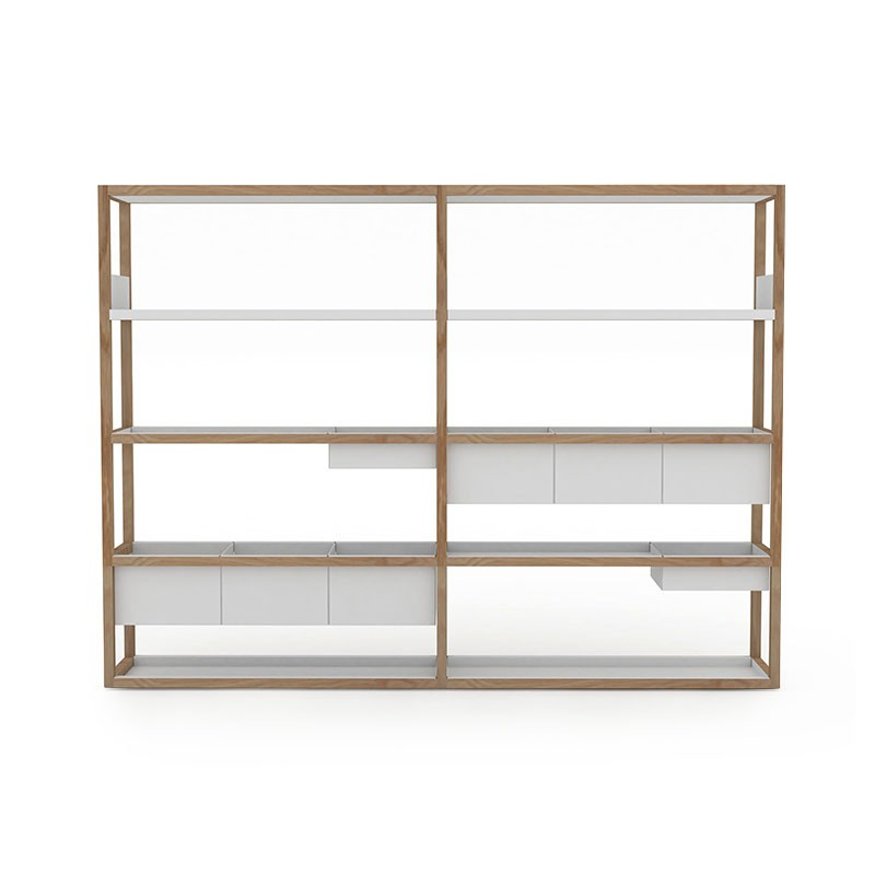 Case Furniture Lap 209cm Wide Shelving by Marina Bautier
