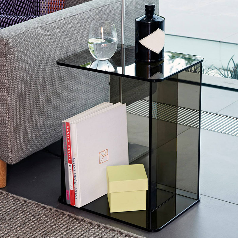 Case-Furniture-Lucent-Side-Table-by-Matthew-Hilton-1 Olson and Baker - Designer & Contemporary Sofas, Furniture - Olson and Baker showcases original designs from authentic, designer brands. Buy contemporary furniture, lighting, storage, sofas & chairs at Olson + Baker.