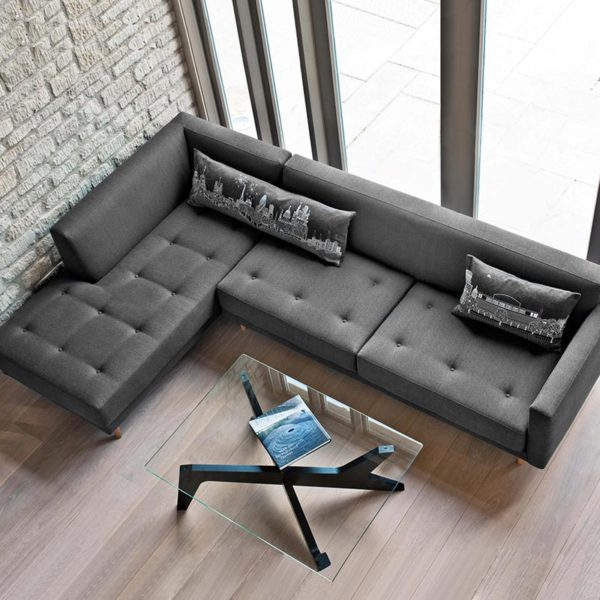 Metropolis Three Seat Left Hand Facing Corner Sofa