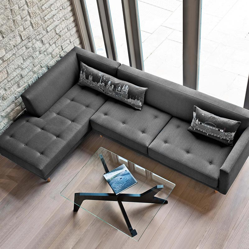 Case Furniture Metropolis Metropolis Three Seat Left Hand Facing Corner Sofa by Mathew Hilton (3)