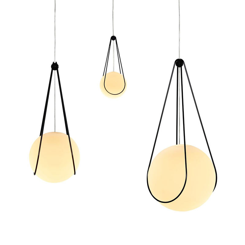 Design House Stockholm Luna & Kosmos Pendant Light by Alexander Lervik (1)