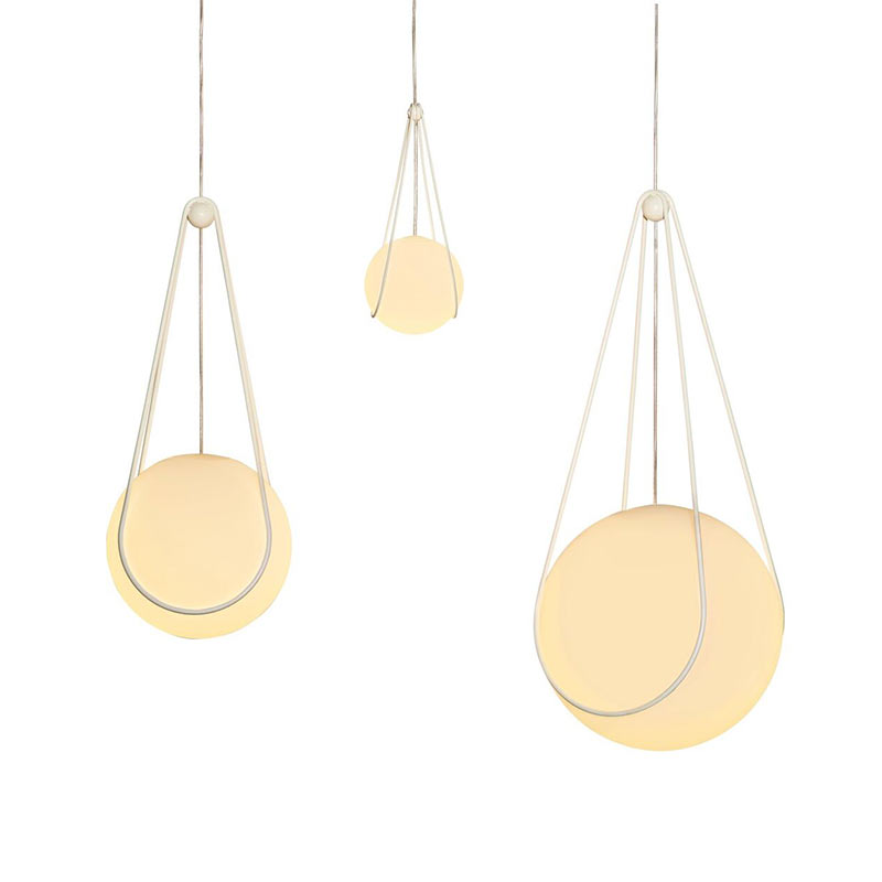 Design House Stockholm Luna & Kosmos Pendant Light by Alexander Lervik (2)