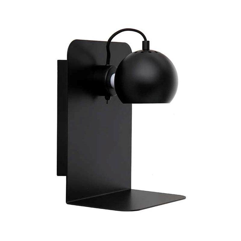 Frandsen Ball with USB Wall Lamp by Benny Frandsen Olson and Baker - Designer & Contemporary Sofas, Furniture - Olson and Baker showcases original designs from authentic, designer brands. Buy contemporary furniture, lighting, storage, sofas & chairs at Olson + Baker.