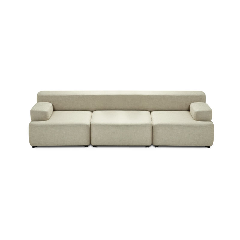 Fritz Hansen Alphabet Four Seat Sofa by Piero Lissoni