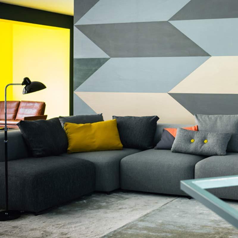 Buy Fritz Hansen S Alphabet Left Hand Facing Corner Sofa