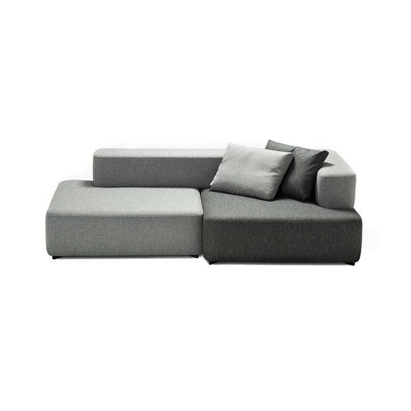 Fritz Hansen Alphabet Right Hand Facing Three Seat Sofa with One Deep Seat by Piero Lissoni