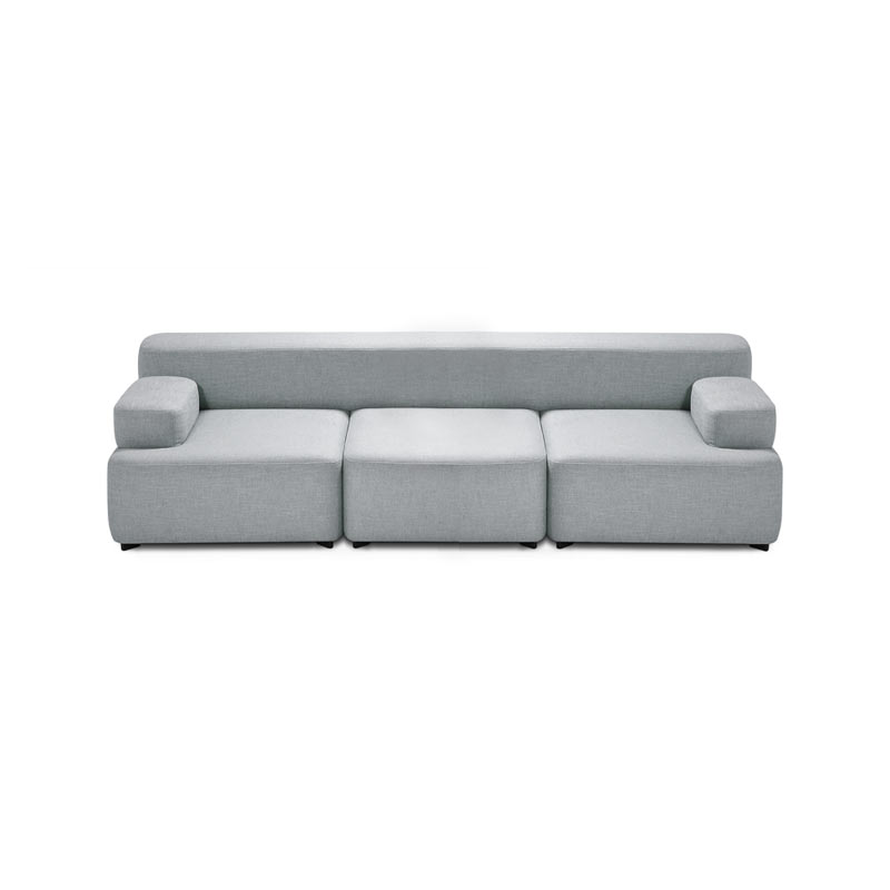 Fritz Hansen Alphabet Three Seat Sofa by Piero Lissoni