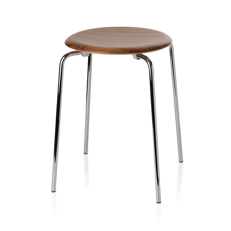 Fritz Hansen Dot Stool by Arne Jacobsen