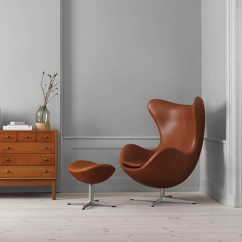 Buy Fritz Hansen\'s Egg Chair by Arne Jacobsen | Olson + Baker