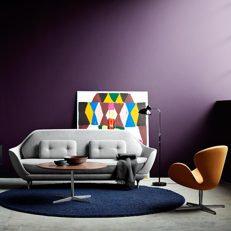 Fritz-Hansen-Favn-Three-Seat-Sofa-by-Jaime-Hayon-2 Olson and Baker - Designer & Contemporary Sofas, Furniture - Olson and Baker showcases original designs from authentic, designer brands. Buy contemporary furniture, lighting, storage, sofas & chairs at Olson + Baker.