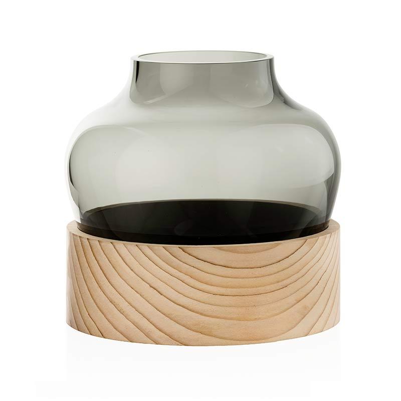 Fritz Hansen Hayon Low Vase by Jaime Hayon