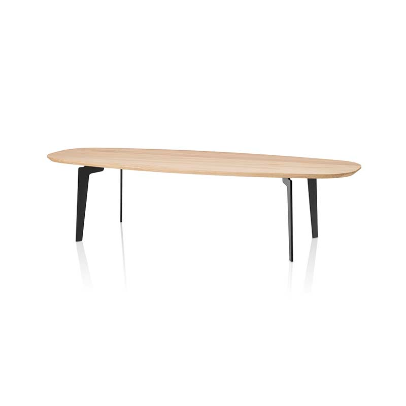 Fritz Hansen Join Oval 130x50cm Coffee Table by Fritz Hansen