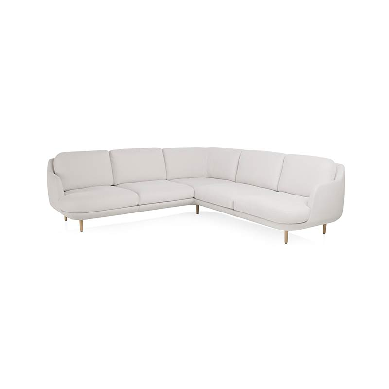 Fritz Hansen Lune Right Hand Facing Corner Sofa by Jaime Hayon