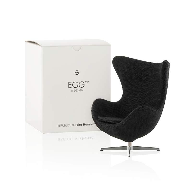 Buy Fritz Hansen\'s Miniature Egg Chair by Arne Jacobsen | Olson + Baker