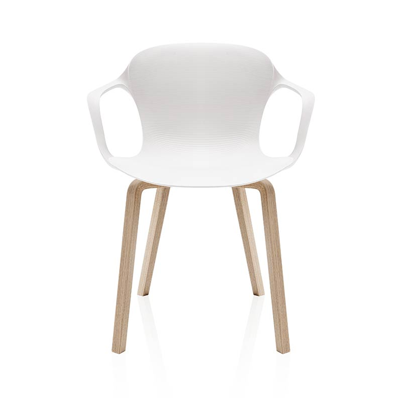 Fritz Hansen NAP Armchair with Wood Legs by Kasper Salto