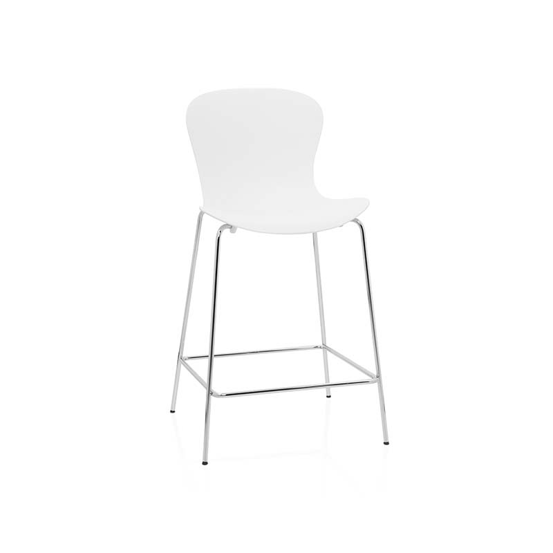 Fritz Hansen NAP Low Bar Stool by Kasper Salto