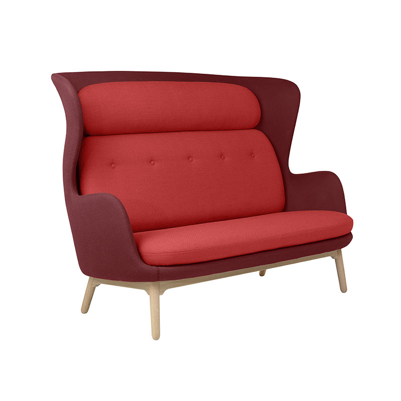 Fritz Hansen Ro Two Seat Sofa by Jaime Hayon