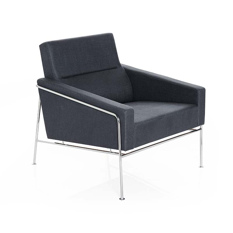 Fritz Hansen Series 3300 Armchair by Arne Jacobsen