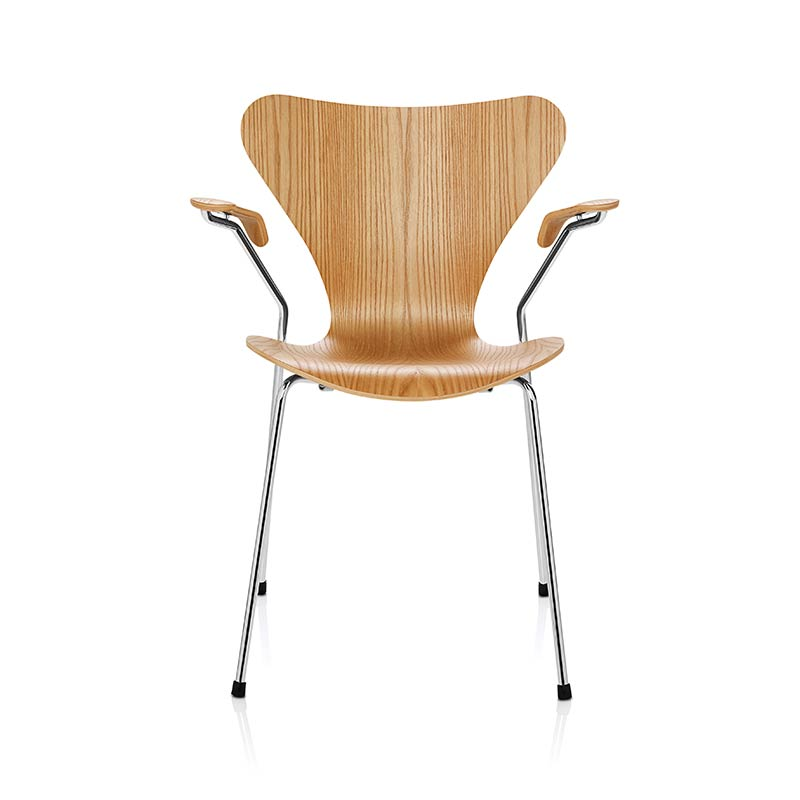 Fritz Hansen Series 7 Armchair by Arne Jacobsen Olson and Baker - Designer & Contemporary Sofas, Furniture - Olson and Baker showcases original designs from authentic, designer brands. Buy contemporary furniture, lighting, storage, sofas & chairs at Olson + Baker.