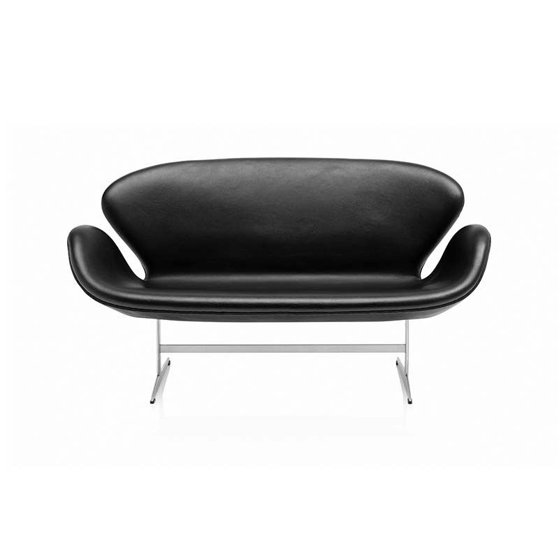 Fritz Hansen Swan Two Seat Sofa by Arne Jacobsen