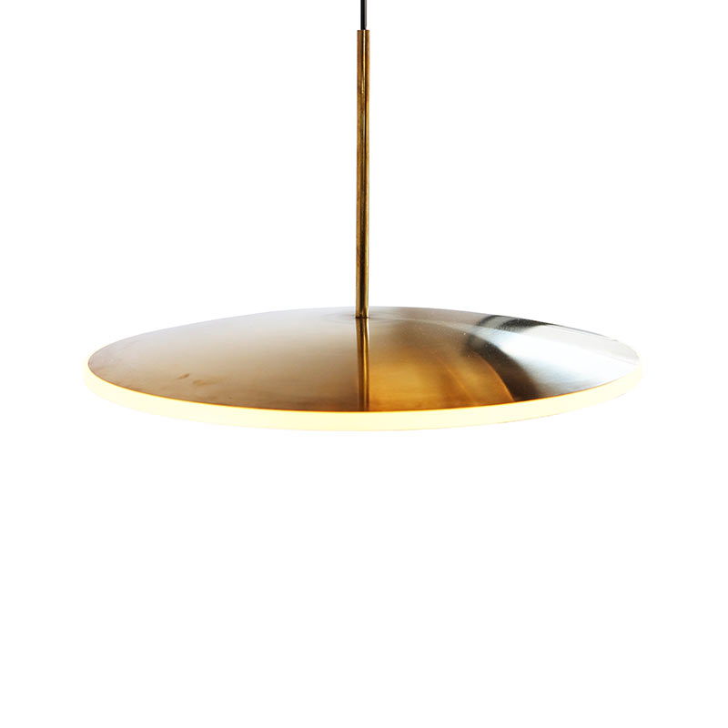 Graypants Dish Horizontal Pendant Light by Graypants Studio