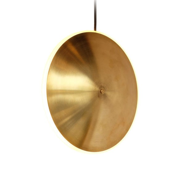 Dish Vertical Pendant Light