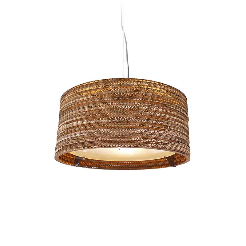 Graypants Drum Pendant Light by Graypants Studio