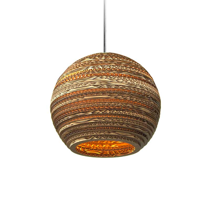 Graypants Moon Pendant Light by Graypants Studio