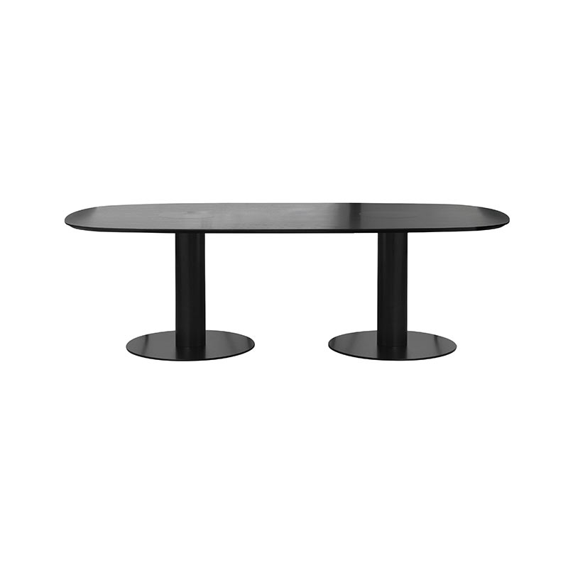 Gubi 2.0 Elliptical 100x240cm Dining Table by Komplot Design
