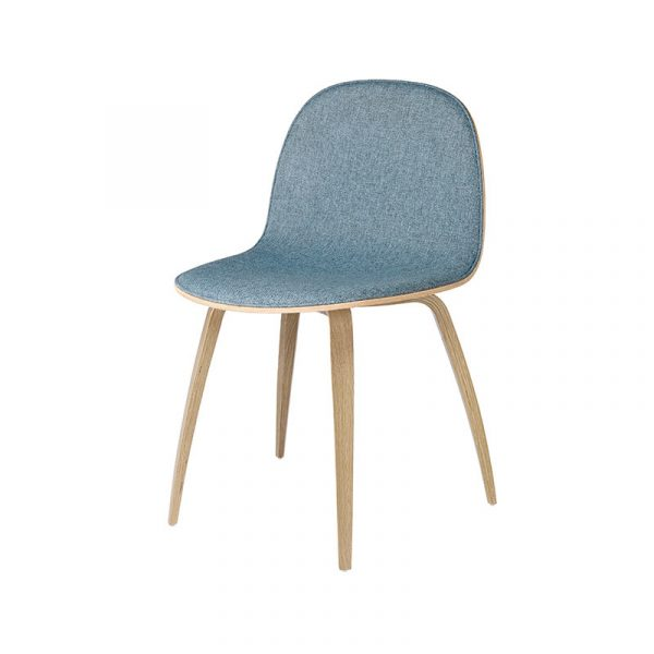 Gubi 2D Front Upholstered Chair by Komplot Design