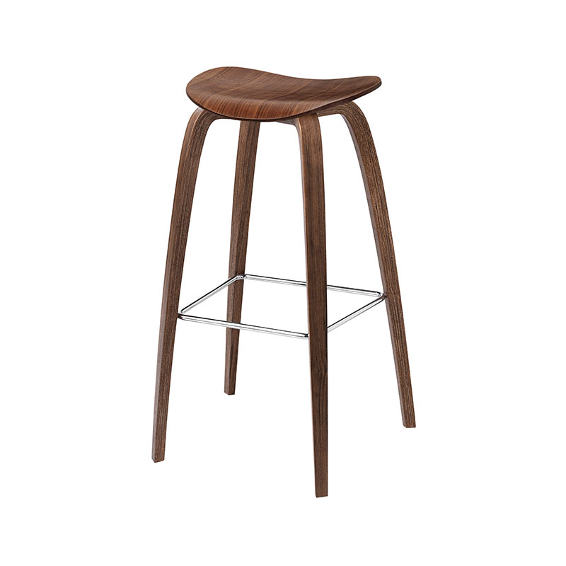 Gubi 2D High Bar Stool by Komplot Design