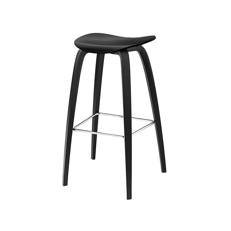 Gubi 2D Low Bar Stool by Komplot Design