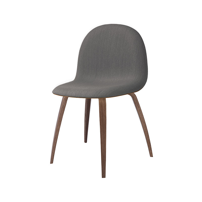Gubi 3D Front Upholstered Chair by Komplot Design