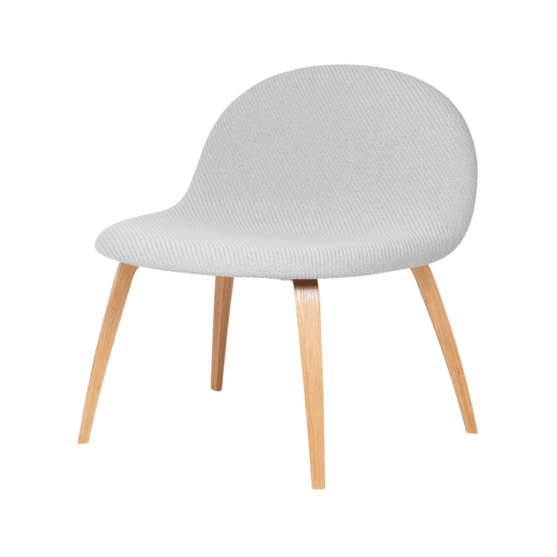 Gubi 3D Fully Upholstered Lounge Chair by Komplot Design